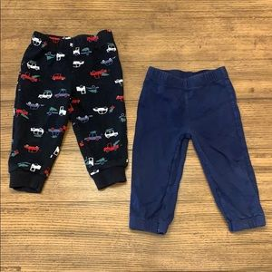 ☀️3 for $10☀️ 2 Pairs of Carter's Baby Sweatpants